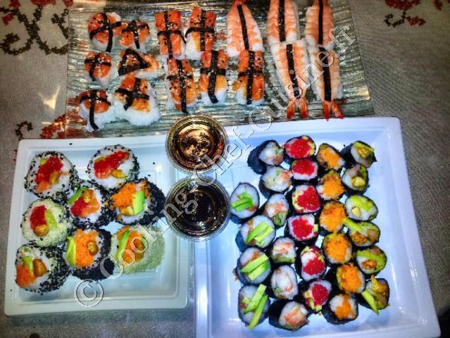 sushis makis california
