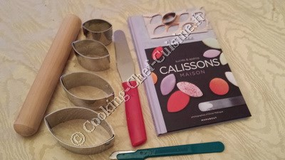 calissons materiel