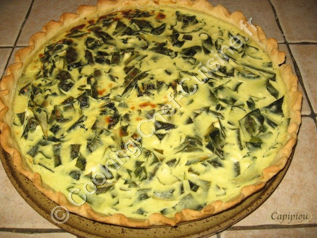 tarte bettes feta
