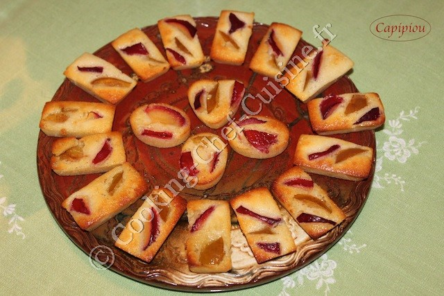 financiers prunes
